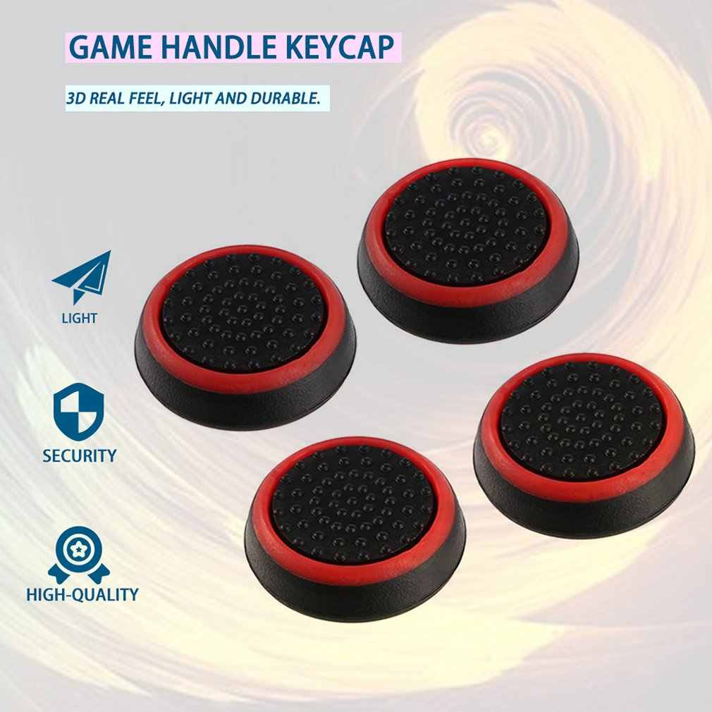 4 Pcs Silikon Analog Thumb Stick Grips Cover Di untuk Xbox 360 Satu PlayStation 4 PS4 Pro Slim PS3 Gamepad Cap tuas Kendali Cap Cover