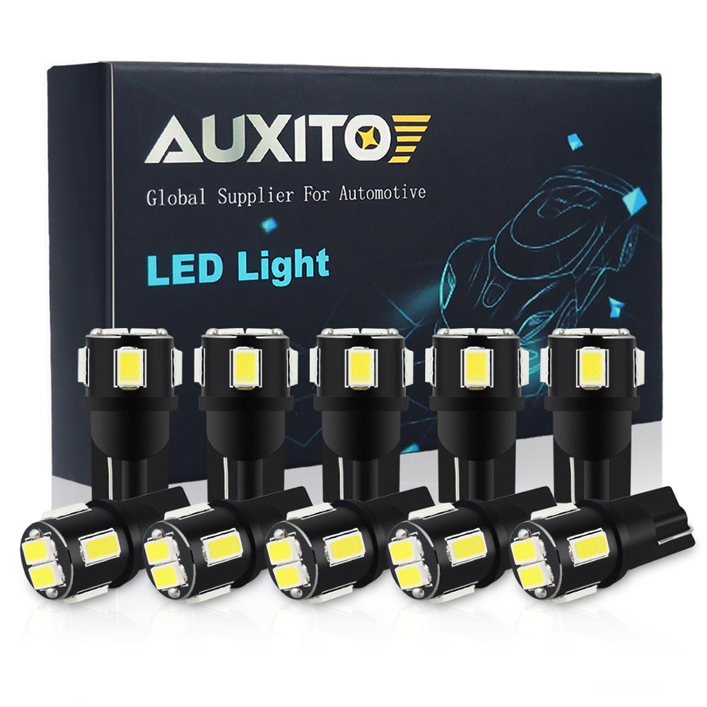 10x T10 <font><b>LED</b></font> W5W Bulb Clearance Parking Lights for <font><b>Mercedes</b></font> <font><b>Benz</b></font> W204 W203 <font><b>W205</b></font> W211 W212 W210 W124 194 168 Auto Interior Light image