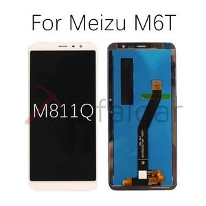 Image 5 - Para meizu m6 display lcd de toque digitador da tela m711h m711m m711q m712h m712q m811q 6t m6s s6 lcd para meizu m6t tela lcd
