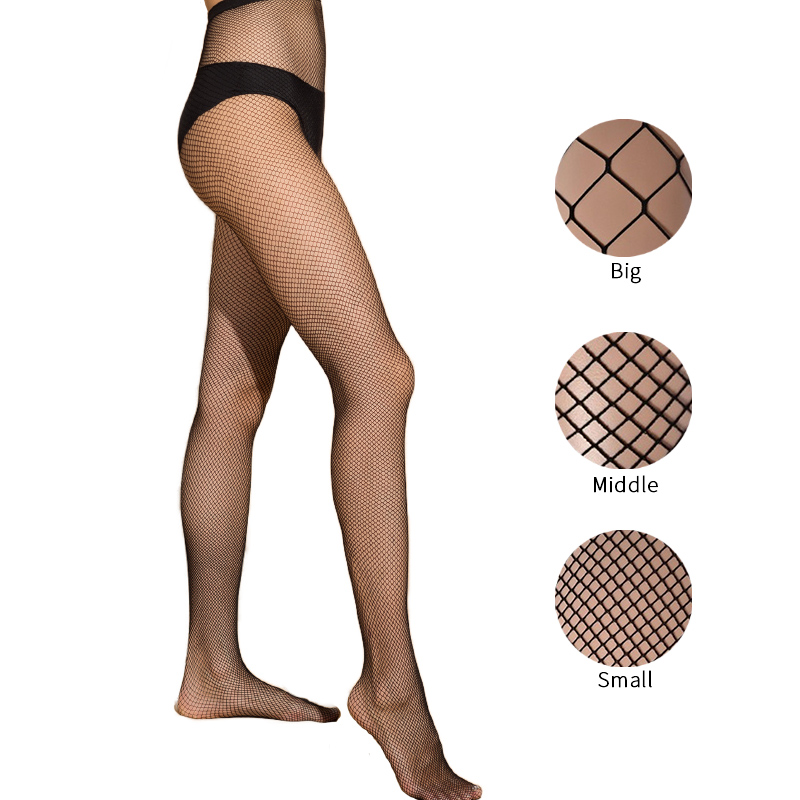 Hollow Out Sexy Pantyhose Black Women Tights Stocking Fishnet Club Party Hosiery Sexy Stockings Female Mesh Ladies 2020