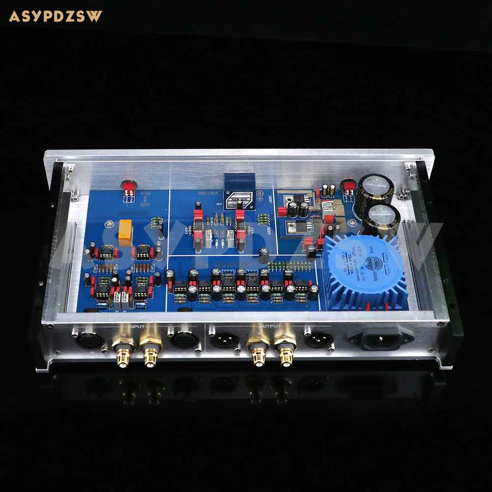 Image 3 - Fully balanced JRC5534 Preamplifier base on MBL6010D Circuit RCA/XLR IN and OUTAmplifier   -