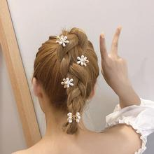 YWZIXLN Hot Sale Flowers Shape Pear Elegant Cute Hair Claws Hairpins Female Hair Styling Accessories H019 hot sale elegant style conterminal loop shape rhinestone embellished women s hair band