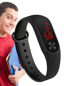 Bracelet Watches Clock Sensor LED Luminous-Diagital Electronic Women Casual Fashion Feminino