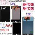 Weida para samsung galaxy tab s 8.4 SM-T700 SM-T705 display lcd de toque digitador da tela sensores assembléia painel para t705 t700 lcd