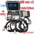 Мультиплексор MB STAR C3, диагностический инструмент для автомобиля pro SD, подключение сканера для Panasonic CF-19 ноутбука с программным обеспечением ...