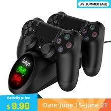 IPega 9180 Controller PS4 Dock Station di ricarica rapida doppio supporto per caricabatterie con Display per Sony PlayStation 4/PS4 Slim/PS4 Pro