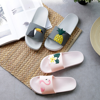 Sheep Lemon Cherry Slide Sandals Cartoon Fruits Women Slippers Summer Slides Ice Cream Home Slippers Women Shoes Flip Flops 1