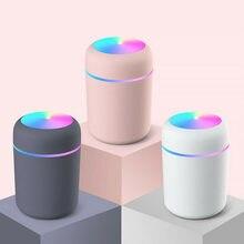 Tragbare Luftbefeuchter 300ml Ultraschall Aroma Ätherisches Öl Diffusor USB Kühlen Nebel-hersteller Purifier Aromatherapie für Auto Home