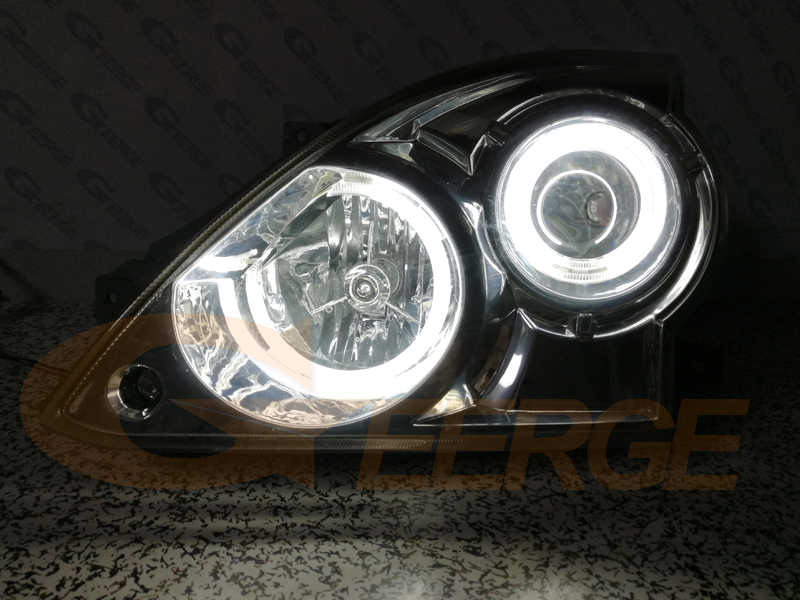 Pour Hyundai terrasses 2001-2007 Excellent CCFL ange yeux kit halo anneaux éclairage Ultra lumineux