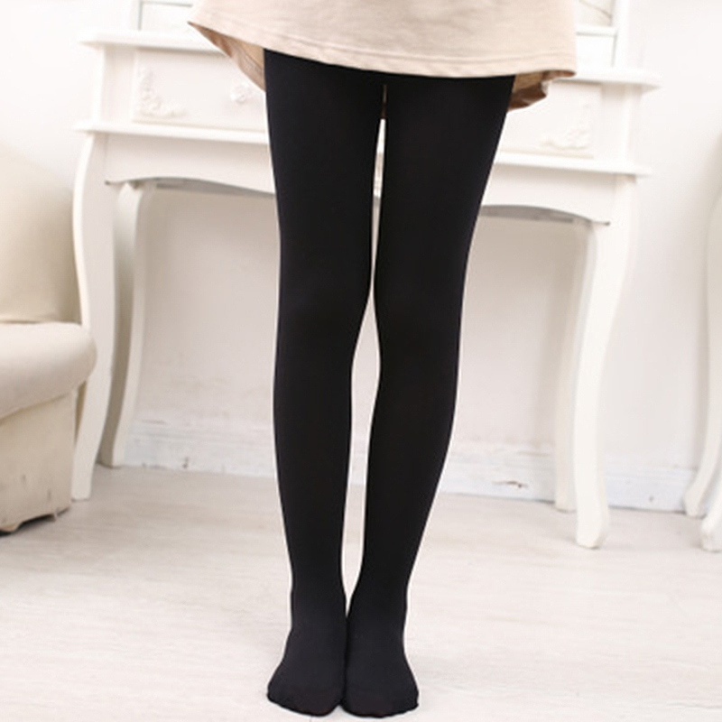 Girls Tights For Kids Spring Summer Cotton Stretch Skinny Pantyhose 3 6 8 10 12 14 Years Children Black Ballet Dance Stockings 4