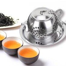 SUEF ситечко для заваривания чая из нержавеющей стали, Сетчатое ситечко для чая, фильтр для кофе, трав, специй, диффузор, чайная ложка, ручка, чайный шар