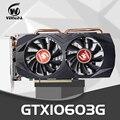 Видеокарта VEINEDA GTX1060 3 ГБ 192Bit GPU GDDR5 видеокарты для nVIDIA VGA карты Geforce GTX 1050Ti HDMI GTX 750 Ti 950 1060