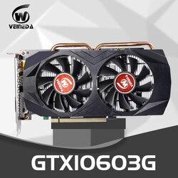 VEINEDA Scheda Video GTX1060 3GB 192Bit GPU GDDR5 Schede Grafiche per nVIDIA SCHEDA VGA Geforce GTX 1050Ti HDMI GTX 750 Ti 950 1060