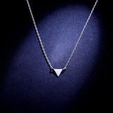 JIAN S925 Silver Color Necklace Pendant Choker Birthday Gift for Girlfriend Women Fashion Wedding Party Jewelry Statement Chain jian natural green pendant necklace choker women fashion jewelry birthday gift for girlfriend vintage chain collares