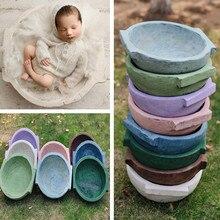 Newborn Photography Prop Photography Baby Props Photo Props Baby Studio Accessori Handmade Round Tub Newborn Shoot Accessori