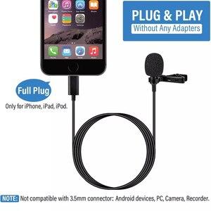 Image 5 - YC LM10 II micrófono condensador para iPhone, 8, 7, 6, 5, 4S, 4, ipad, Huawei, Samsung, HTC como BY LM10