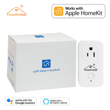 Timethinker Smart Plug for Apple Homekit WIFI Socket ALexa Google Home APP Voice UK/US/EU/AU Remote Control Outlet