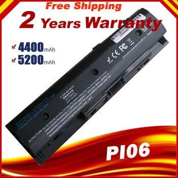 PI06 batería de ordenador portátil para HP pabellón 14 15 envidia 17t 17z HSTNN-DB4N HSTNN-DB4O HSTNN-LB4O 710417-001 710416-001PI envío rápido