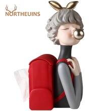 Northeuins полимерный рюкзак для девочек держатель бумаги статуэтки