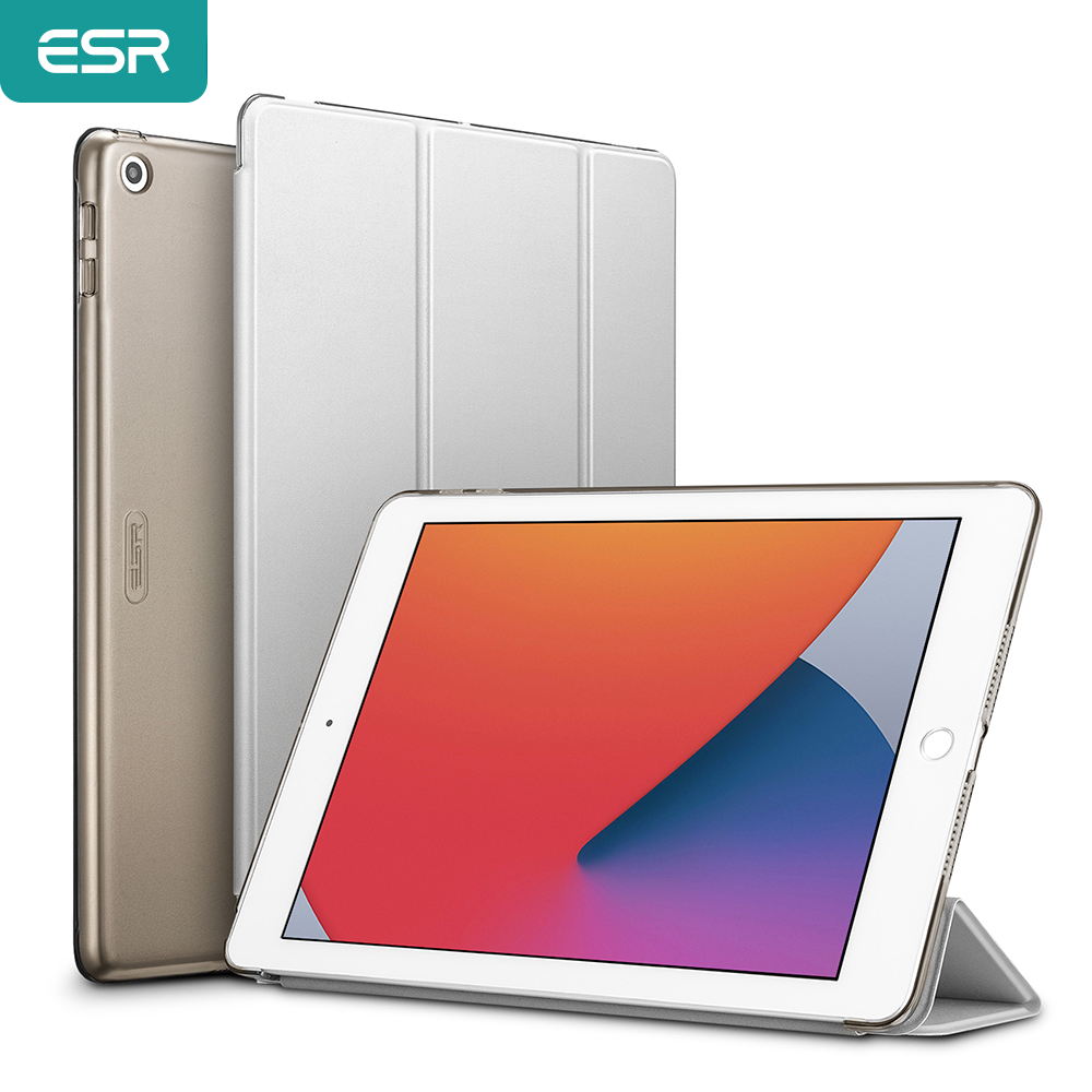 Esr tablet estojo para 2020 ipad 8th gen ipad pro 12.9/11 ipad 7th gen 2019 mini 5/4/3/2/1 ar 2 tpu borda macia caso capa inteligente