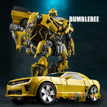 Film transformé WJ Bumblebee avec pièces métalliques MP M03 MP21 figurines de Collection Leader(China)