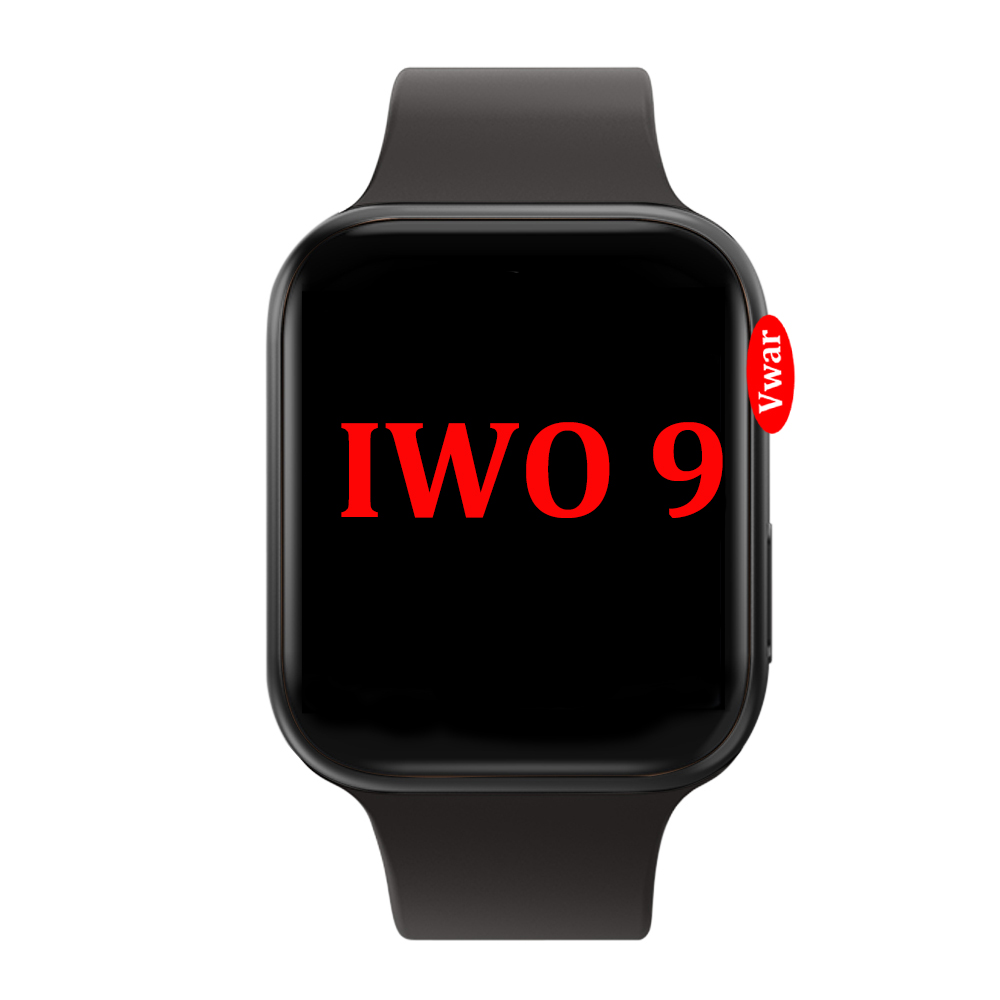 IWO 9 44mm Smart Watch 4 Heart Rate Samrtwatch case for apple iPhone Android phone IWO 5 6 8 Plus 10 upgrade NOT apple watch image