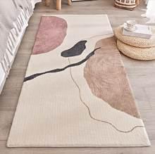 Ins grosso algodão mistura velo tapetes área geométrica para sala de estar quarto entrada capacho tapetes cabeceira lavável