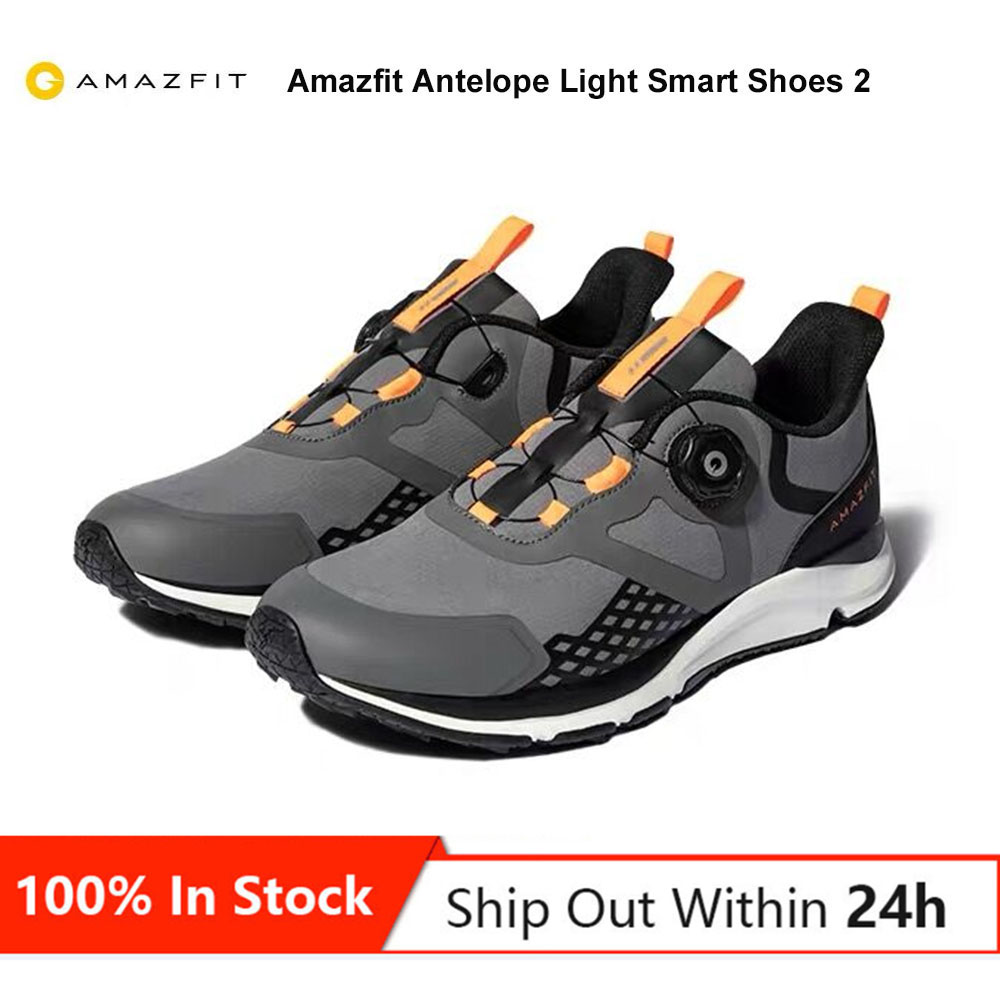 Original Amazfit Antelope Light Smart Shoes 2 Sports Outdoor Shoes Sneakers Support Smart Chip Breathable Lightweight