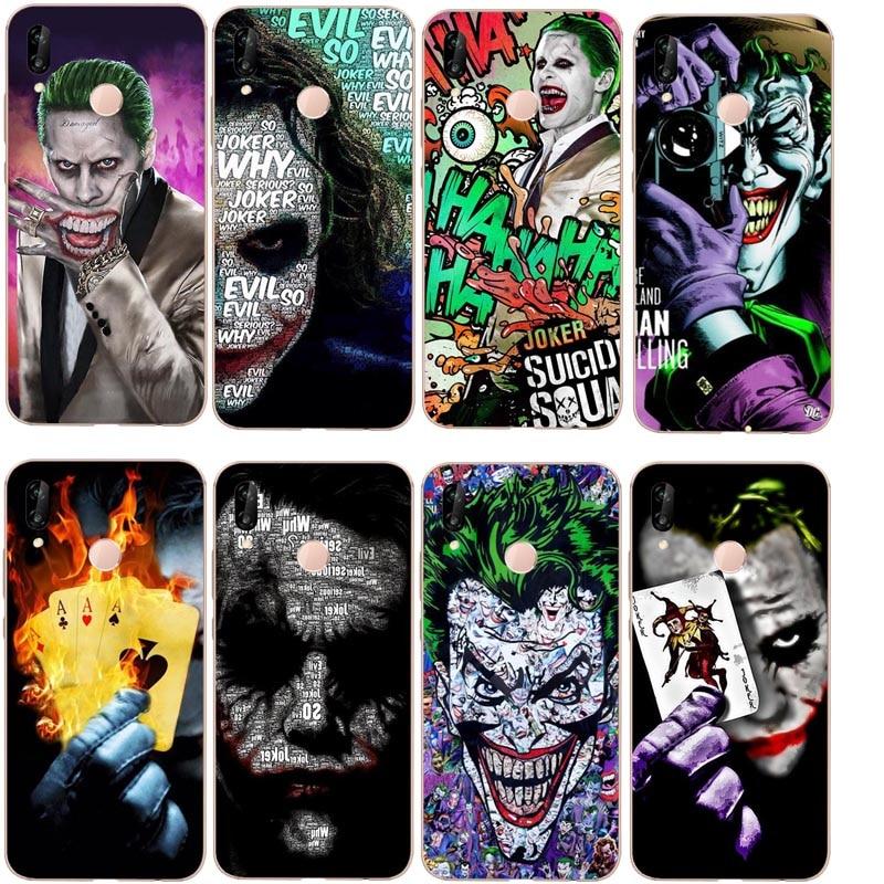 Joker en vente de luxe Cool doux TPU téléphone étui pour huawei P8L P9 P10 P20L P20LITE P30 Mate 8 9 10 Mate XR