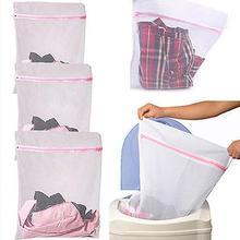3 размера домашнего использования одежды мыть мешок удобный лифчик нижнее белье одежда корзина для грязной одежды сумки защиты грубой косметичка с сеточкой