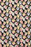 Patchwork Tissus Getzner Diy Craft Cloth Retro Multicolor Skeleton Cotton Export Width 125 Half The Price Of Rice In Fabrics