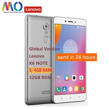 Unlock Global Versie Lenovo K6 Note K53a48 32G Android7.0 Qualcomm Octa Core 5.5 Inch Fhd 16MP Camera 4000 Mah 4G Ota Smartphone(China)