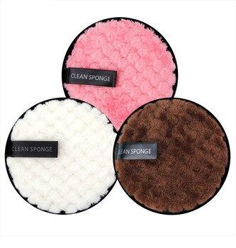 12cm 1/3Pcs Makeup Remover Pads Microfiber Reusable Face Towel Make-up Wipes Cloth Washable Cotton Pads Skin Care Cleansing Puff недорого