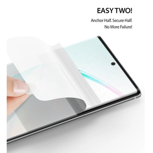 Image 4 - Ringke Protezione Dello Schermo Dual Facile Film per Galaxy Note 10 Più Alta Risoluzione Facile Applicazione Pellicola per la Nota 10 + pro [2 Pezzi]