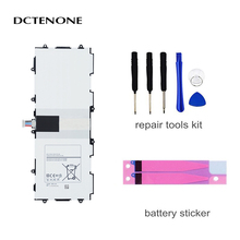 DCTENONE  Replacement Battery T4500E 6800mAh For Samsung GALAXY Tab 3 P5210 P5200 P5220 Genuine Tablet Battery witblue new inner exchange 3000mah 3 7v battery pack for 7 wexler tab a742 a740 a744 dexp ursus a370i tablet replacement