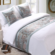 Bedspread Bed-Runner Luxury Bedding-Protector Hotel-Decoration Single King Queen Home