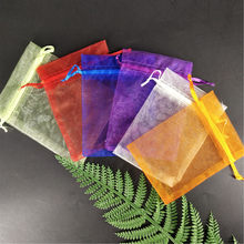 50pcs Small Organza Bag Wedding Decoration party decoration Packaging Bags Gift Bag Pouches dragees bag wedding box for sweet 5(China)