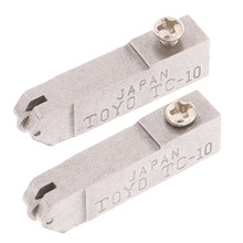 2pcs Replacement Parts TC-10 High Strength Hardness Glass Straight Cutting Head Tool For Glass Wine Bottle Cutting Head