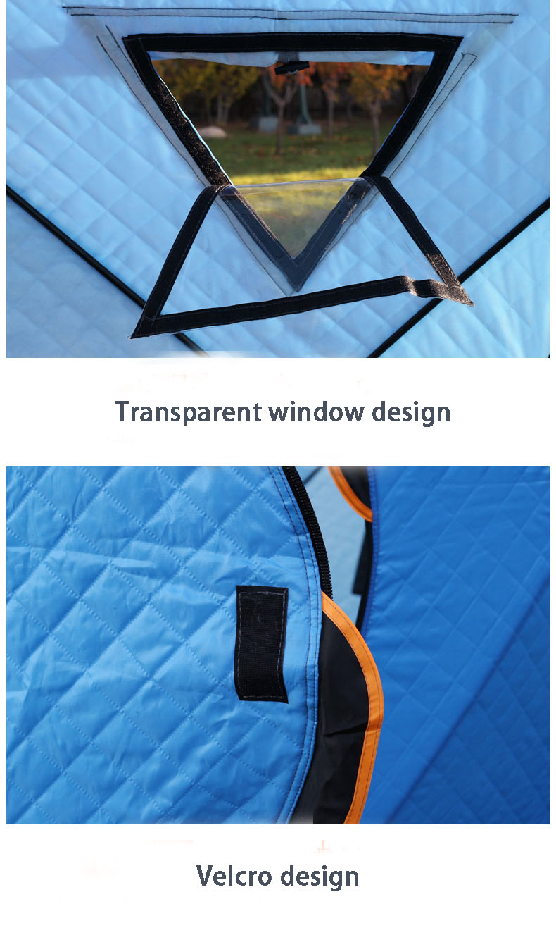 Professional Camping Tent With Transparent Window Design For Fishing And Travelling 10