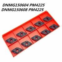 Tungsten karbür DNMG150604/08 PM4225 karbür aracı DNMG 150604  08 bıçak freze torna CNC aracı iç alaşım dönüm aracı
