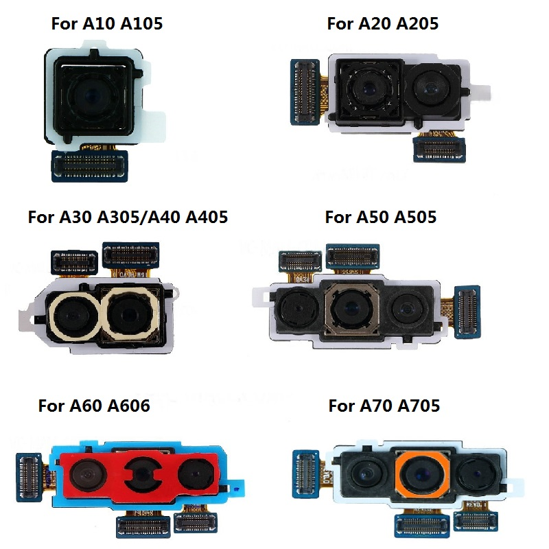 Big Rear Camera Module For Samsung Galaxy A10 A105/A20 A205/A30 SM-A305/A40 A405/A50 A505/A60 A606F/DS A70