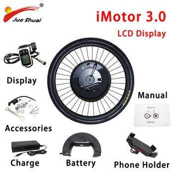Kit de Motor de Bicicleta eléctrica iMotor 3,0 rueda de Motor delantera...