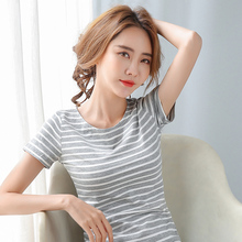 T Shirt Women 2020 Summer Top Shirts Cotton Plus Size 5XL Casual Short sleeve Ts