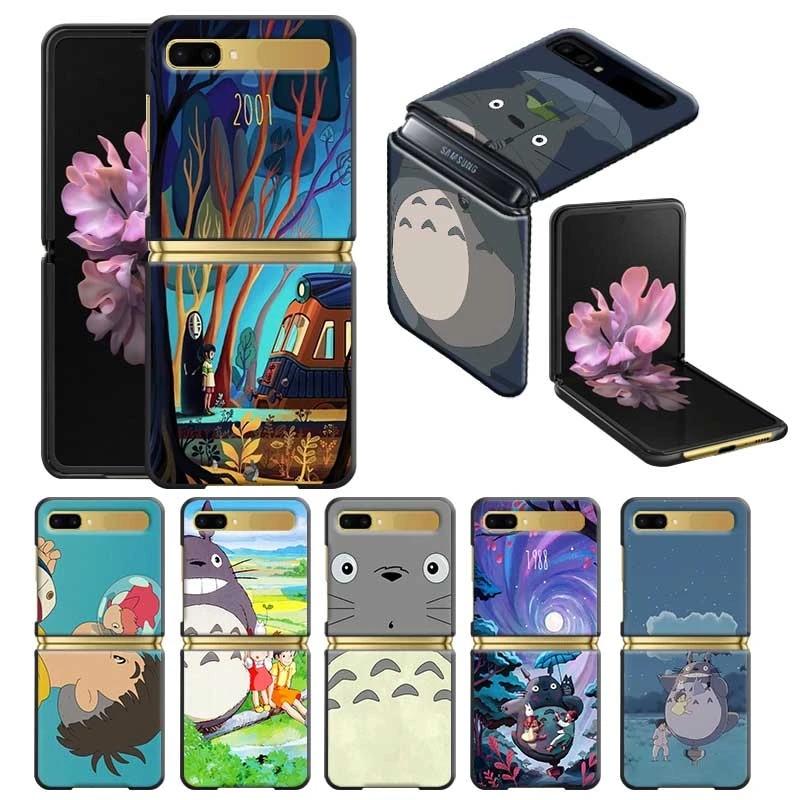 Cute Cartoon Totoro Hard Case for Samsung Galaxy Z Flip 5G ZFlip 6.7