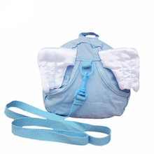 New Childrens Cotton Material Shoulder Bag Children Anti-Lost Environmental Ladybug Angel Wings Belt Gently Detachable