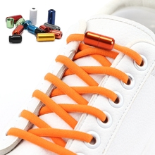 Shoe-Laces Sneakers Elastic Round 21-Colors Kids New Without Loop for And Adult Fast