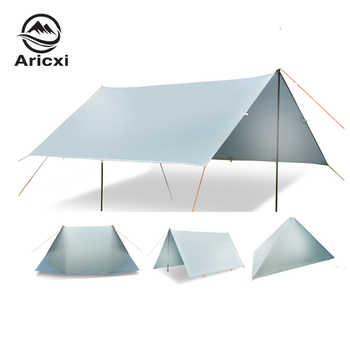 ARICXI 15D silicone coated nylon ultra light tarp Outdoor awning tarp  light weight portable  camping shelter sunshade tent tarp - DISCOUNT ITEM  41% OFF All Category
