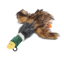 Cute Pet Dog Toys Squeaking Duck Toy Plush Puppy duck for Dogs pet chew squeaker squeaky toy Cachorro Mascotas