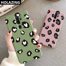for OPPO A9 2020 A5 A3S AX7 AX5S Color TPU Cute Leopard Prin