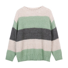 Striped Loose Womens New Arrival Sweaters Women To